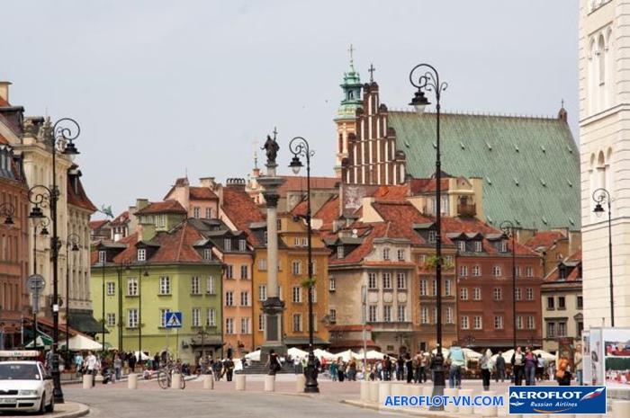 Khu phố cổ ở Warsaw