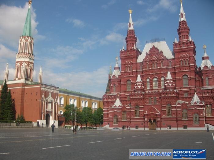 Quảng trường đỏ - Nga