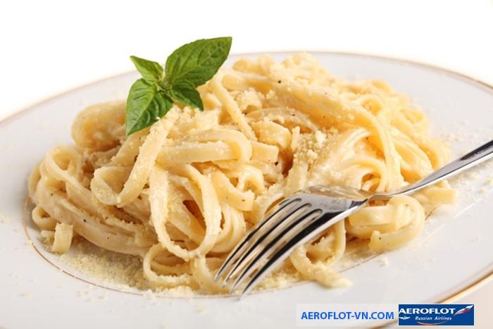 Pastar - món mỳ nổi tiếng của nước Ý