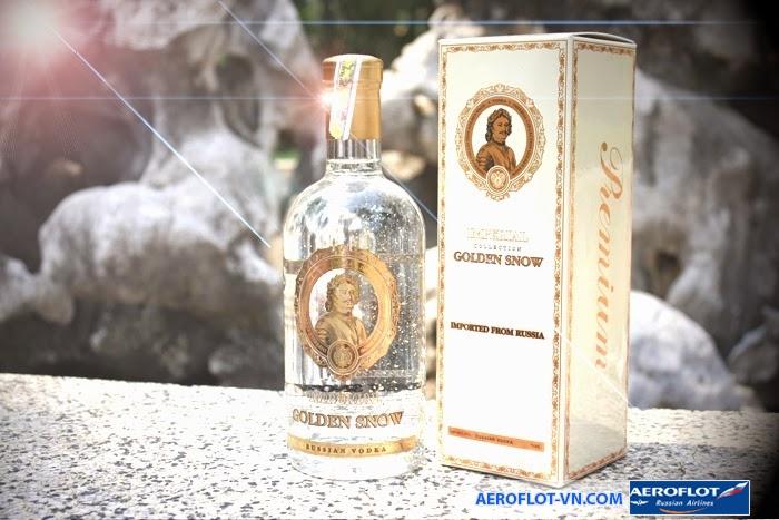 Rượu Vodka là đặc trưng văn hóa Nga