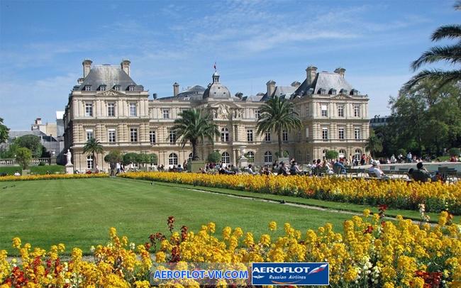Luxembourg Garden là một trong những địa danh nổi tiếng nhất châu Âu