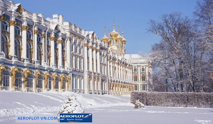Cung điện mùa đông Thành phố Saint - Petersburg