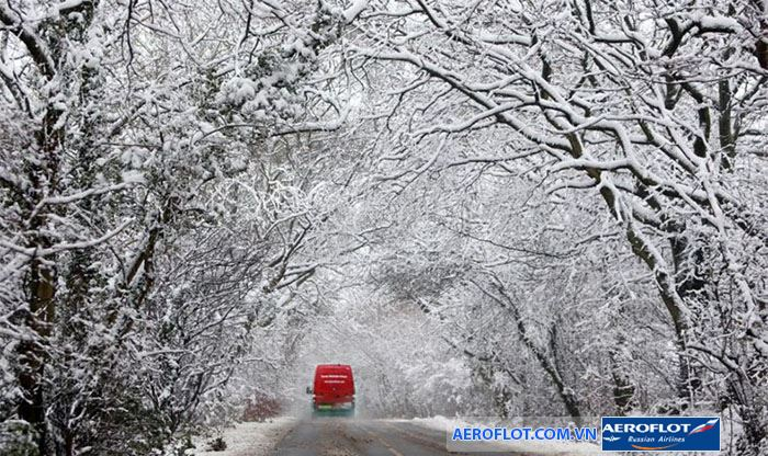 Mùa đông tại Anh mang ve đẹp kiêu sa