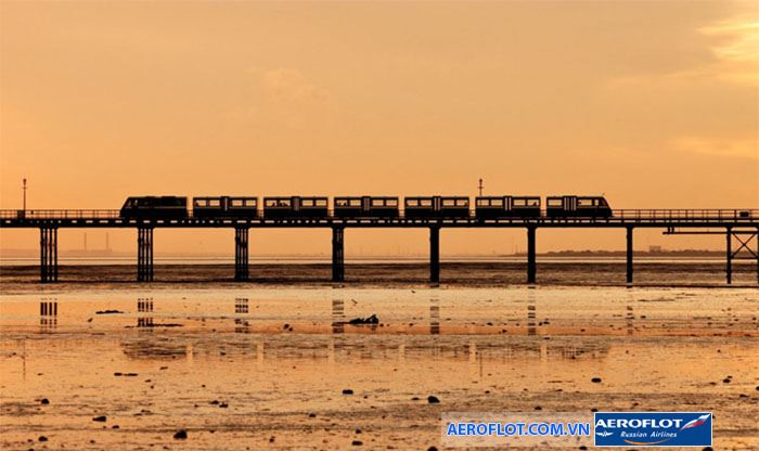 Bến tàu Southen-on-sea cổ kính