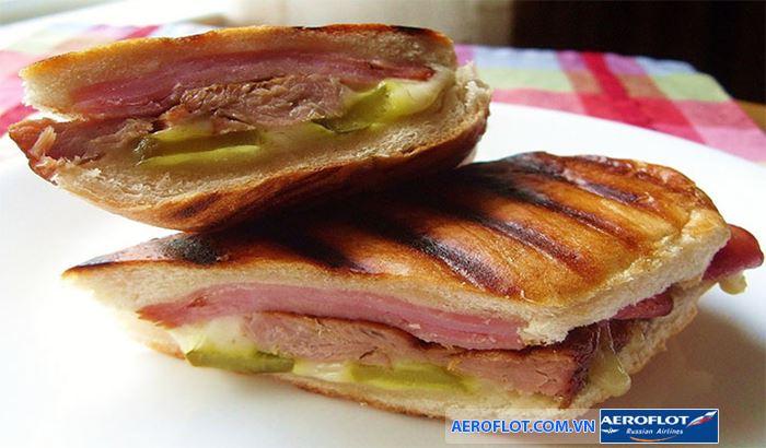 Món Sandwich mang hương vị đặc trưng của Cuba