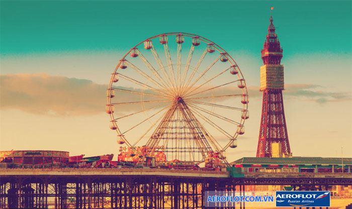 Bến tàu Blackpool- nơi nghỉ dưỡng lí tưởng