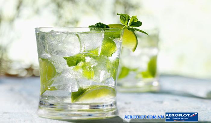 Cockail mojto - một loại nước uống nổi tiếng của Cuaba