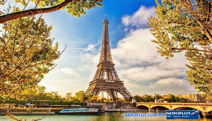Thành phố Paris lãng mạn