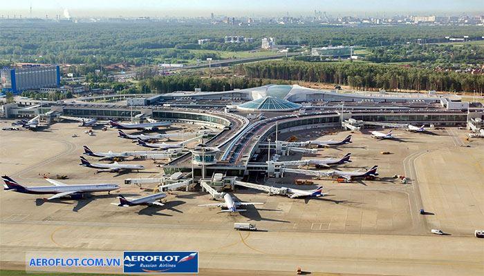 Sân bay Sheremetyevo uy tín, chất lượng