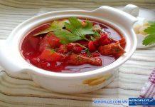 Súp củ cải - 7 món ăn đặc sắc trong âm thực UkrainaSúp củ cải - 7 món ăn đặc sắc trong âm thực Ukraina