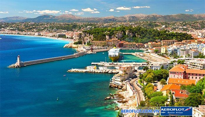 Thành phố Nice với cảng biển tuyệt đẹp