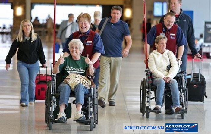 Dịch vụ xe lăn dành cho người khuyết tật