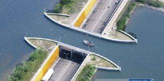 Cây cầu nước Veluwemeer, Hà Lan