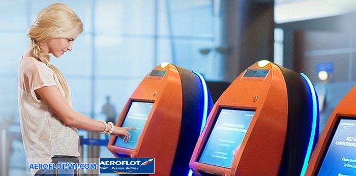 Check-in tại kiosk