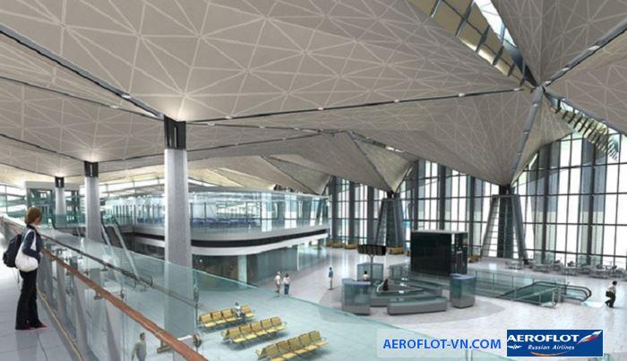 Sân bay có thiết kế nhà ga độc đáo