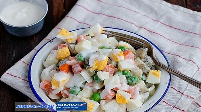 Salad truyền thống của Nga