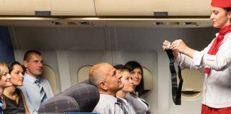 Bạn luôn phải thắt dây an toàn trên đi máy bay khi tiếp viên yêu cầu