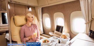 Các hạng ghế trên máy bay Aeroflot