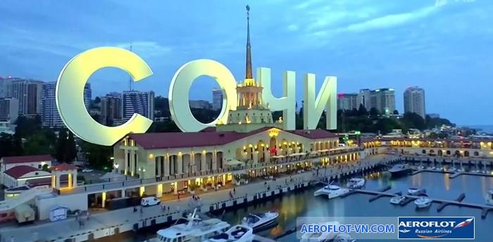 Mùa xuân và mùa hè là thời điểm đẹp nhất để đến Sochi