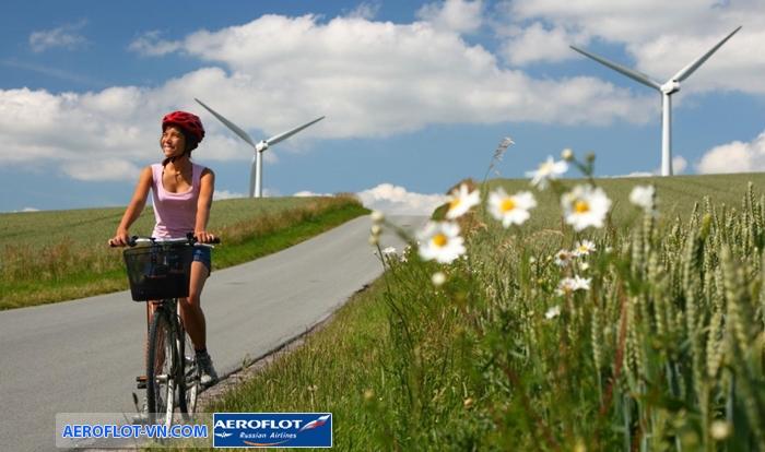 Người dân Copenhagen sử dụng xe đạp rất nhiều