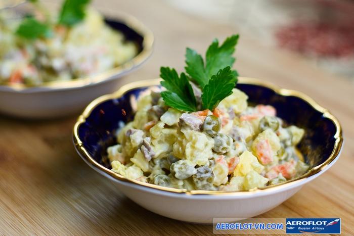 Nên thưởng thức salad Nga trên chính quê hương của nó