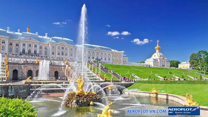 Cung điện mùa hè - Versailles của nước Nga