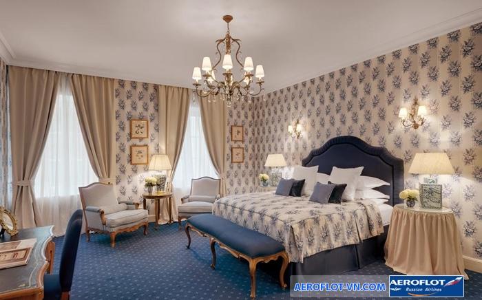 Phòng ngủ rất đẹp tại Kempinski Moika 22 HotelPhòng ngủ rất đẹp tại Kempinski Moika 22 Hotel