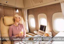 Các suất ăn trên chuyến bay Aeroflot