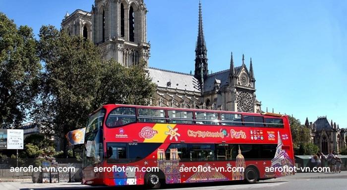 Xe bus là phương tiện đi lại thuận tiện nhất ở Paris