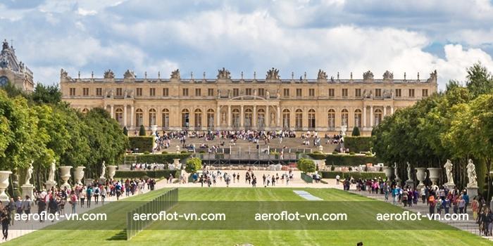 Cung điện Versailles nơi ở của Vua và Hoàng hậu Pháp