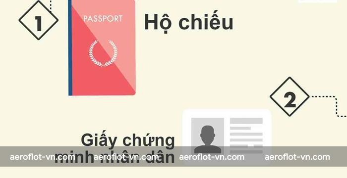 Hộ chiếu và CMT là giấy tờ không thể thiếu trên các chuyến bay quốc tế
