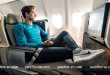 Chọn chỗ ngồi đi máy bay Aeroflot