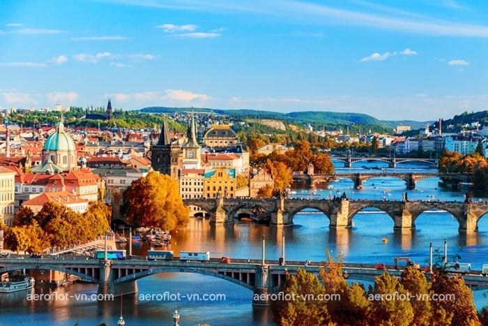 Prague vào mùa thu