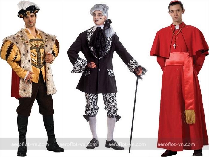 Trang phục truyền thống của đàn ông Nga trong dịp lễ hội