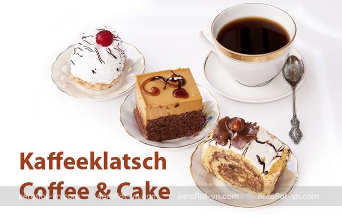 Cafe và bánh là văn hóa của người Đức vào chiều chủ nhật